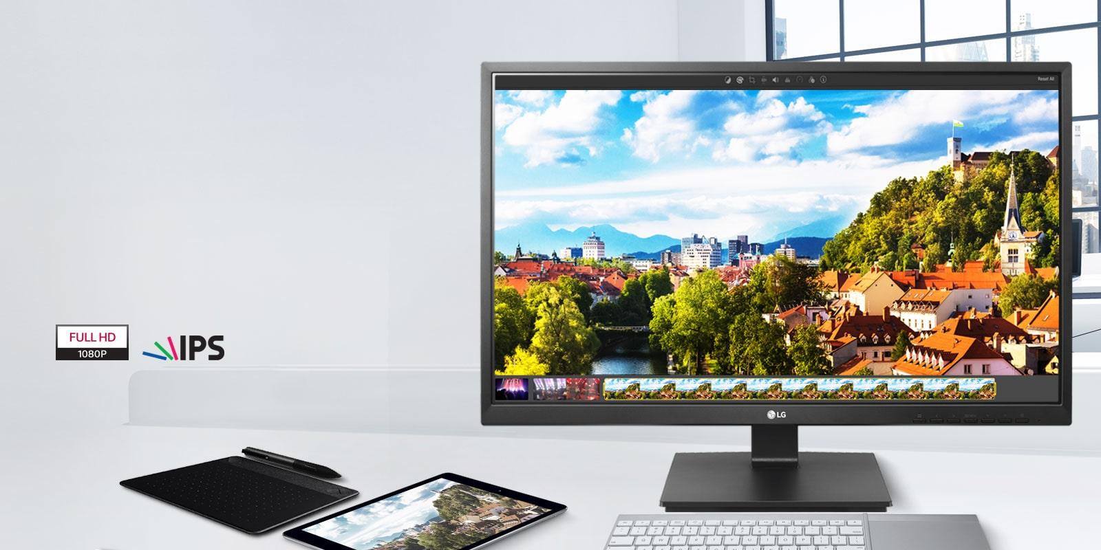 Full HD IPS display <br> 1