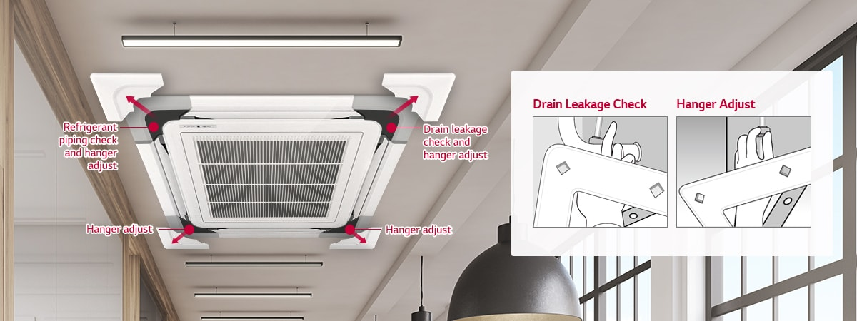 LG Convenient Panel Installation Air Solution