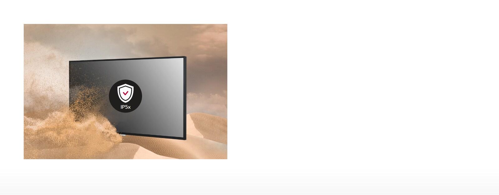 LG 65UM3DF IP5x Certified Design1