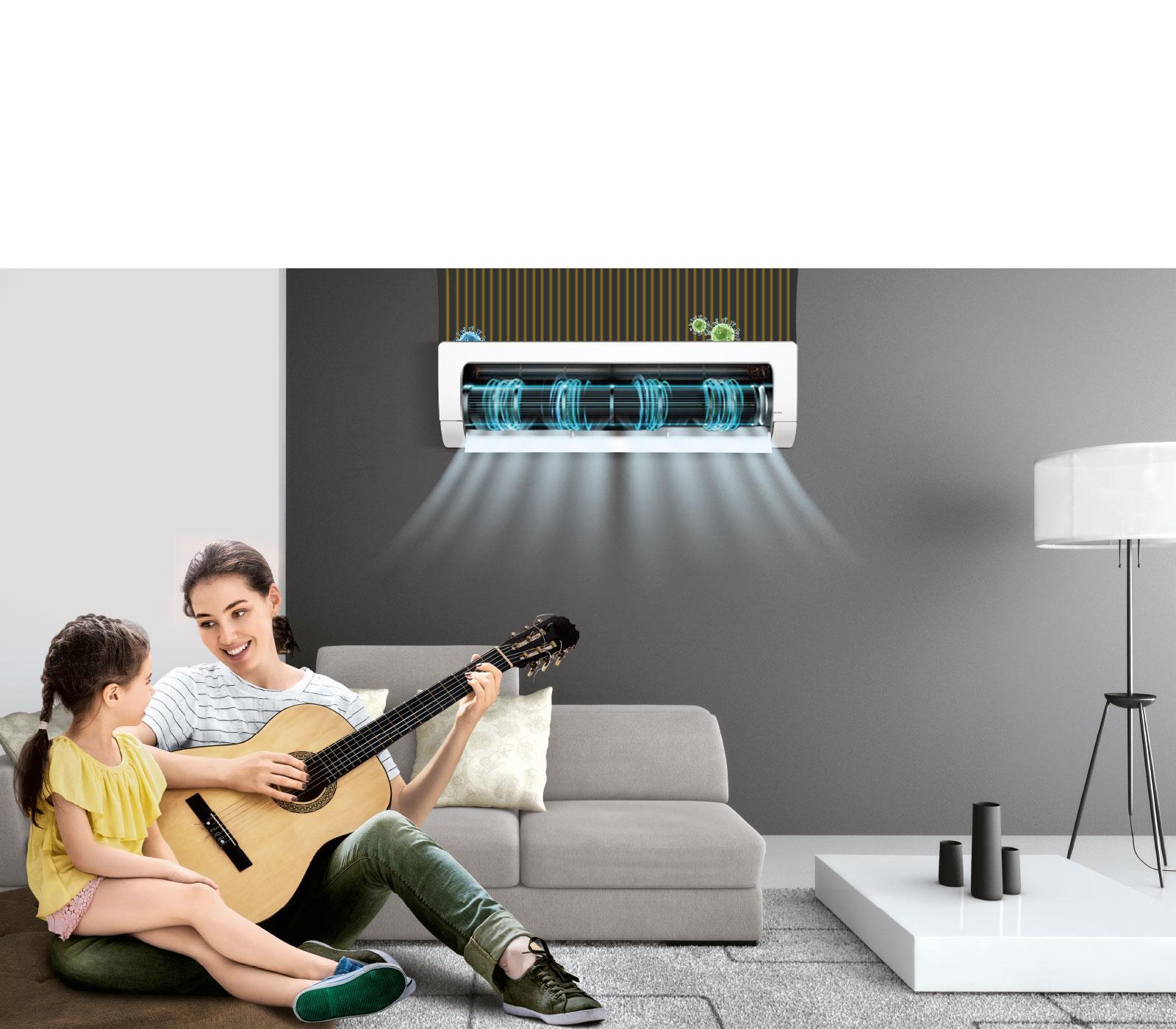 LG MS-Q18UVXA UV Nano