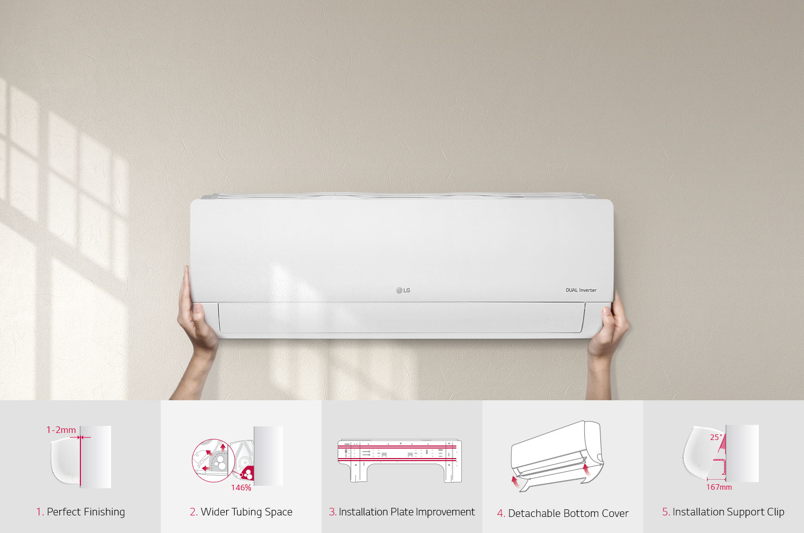 Lg Bsa18beyd Dual Inverter 15tr Split Ac India Air Conditioning Circuit Board Cost Conditioner Quick And Easy Installation Conditioners