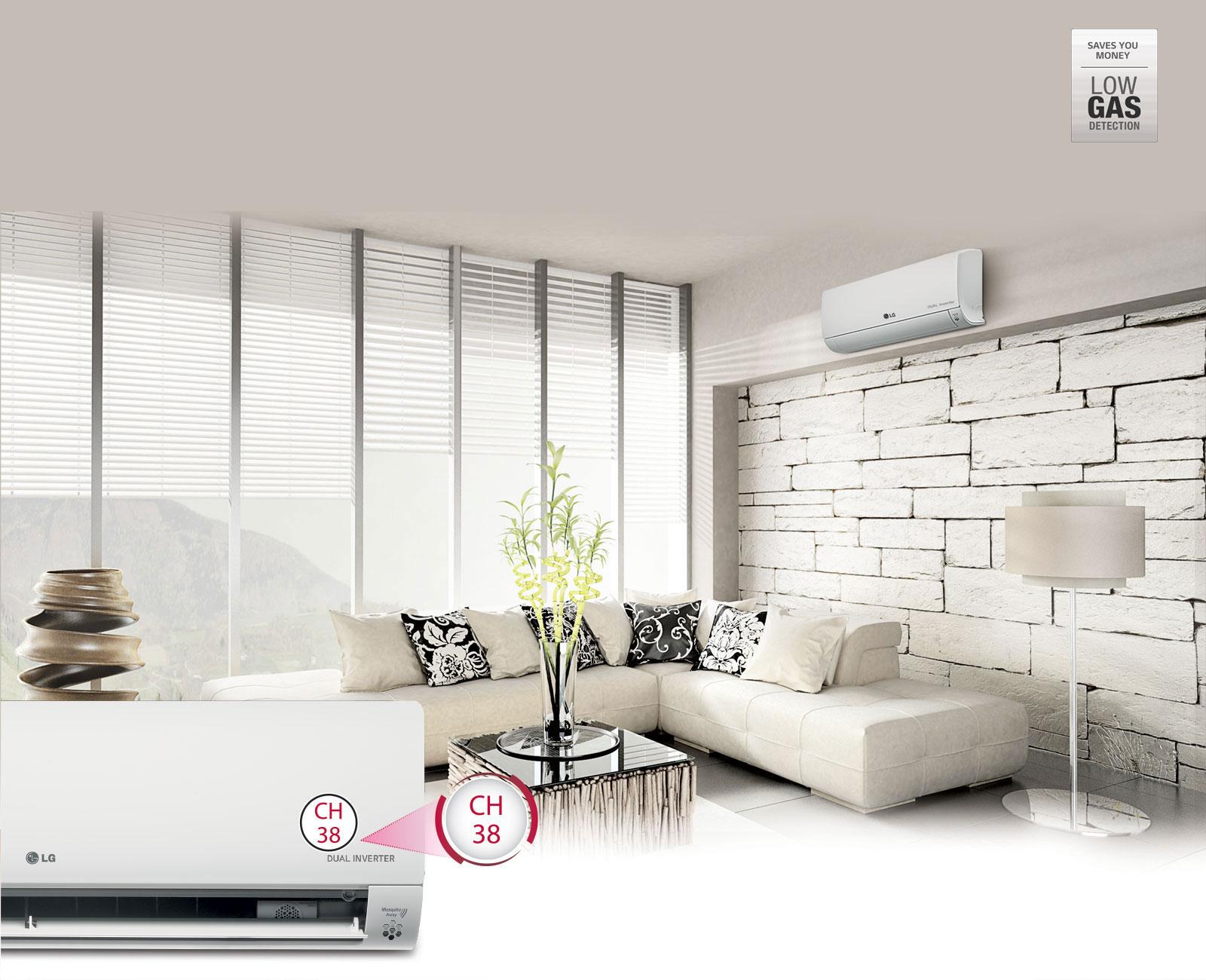 LG Low Refrigerant Detection