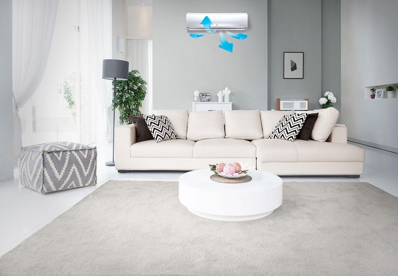 LG 4 Way Swing Split Air Conditioner