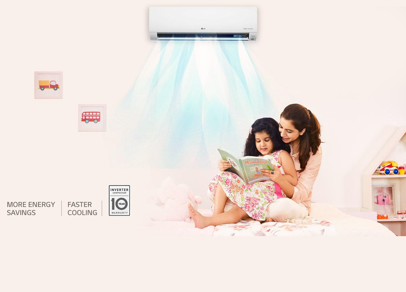 Lg Js Q12auxa 10tr Split Air Conditioner India Semi Automatic Washing Machine Wiring Diagram Smart Inverter Web10