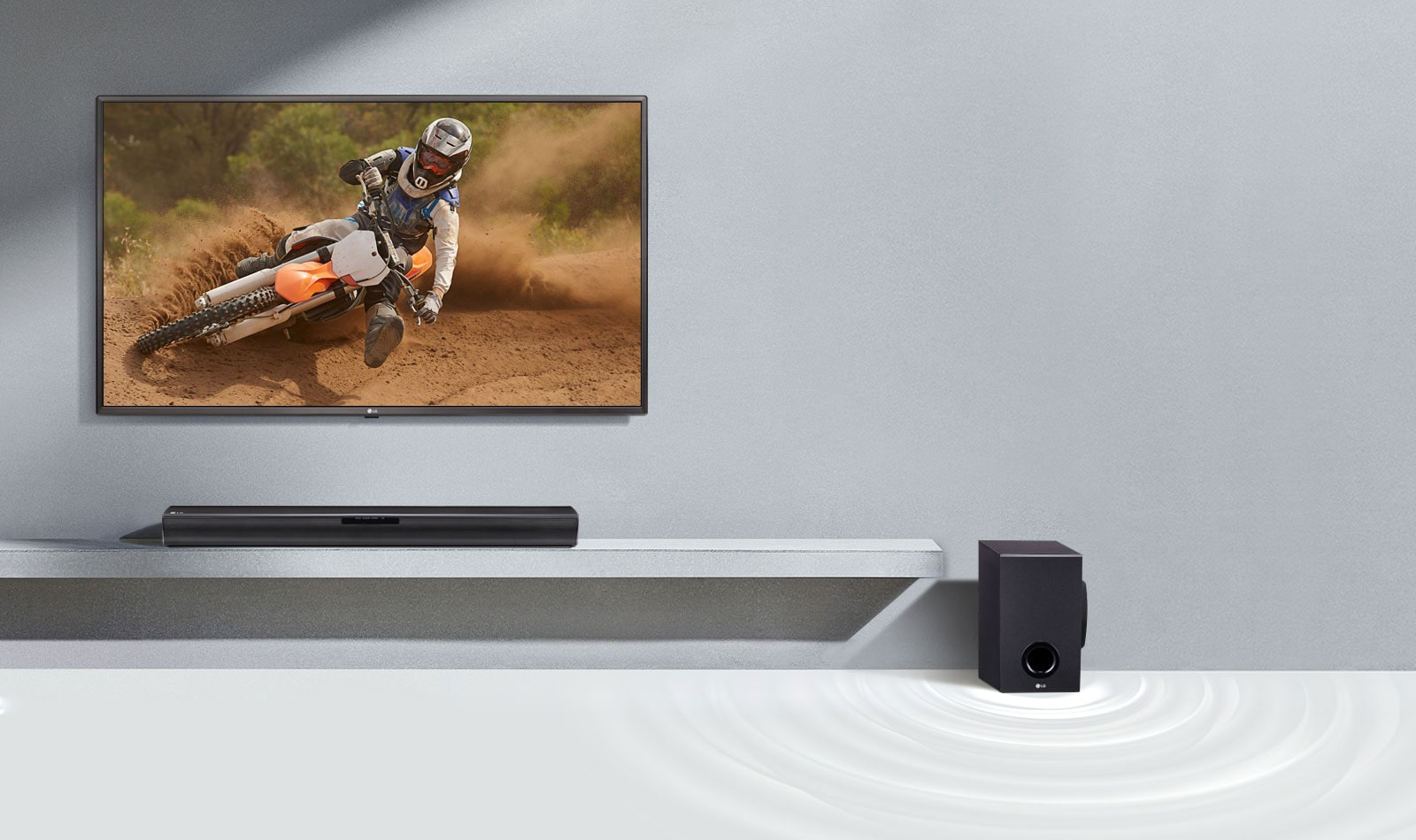 Wireless Subwoofer, superb bass without wires