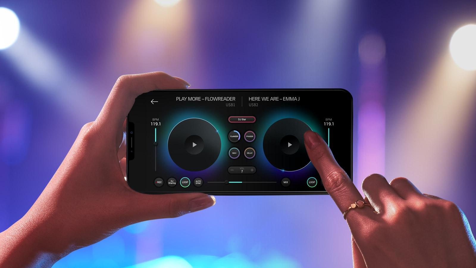 LG XBOOM OL100 DJ App