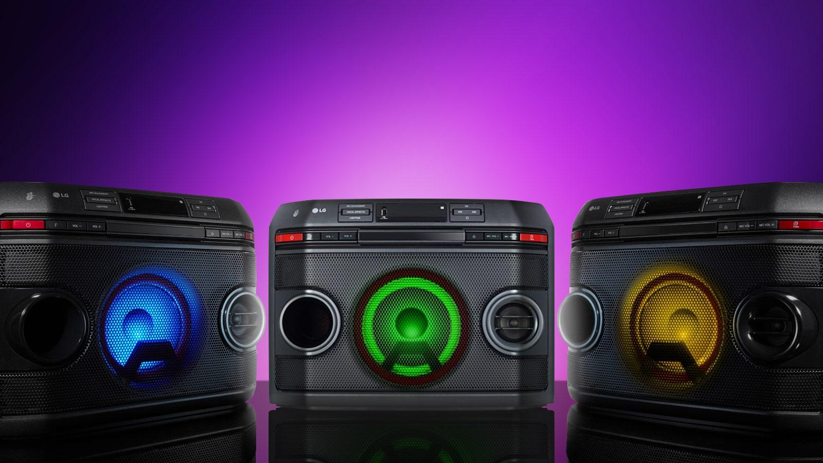 LG XBOOM OL45 Multi Color Lighting