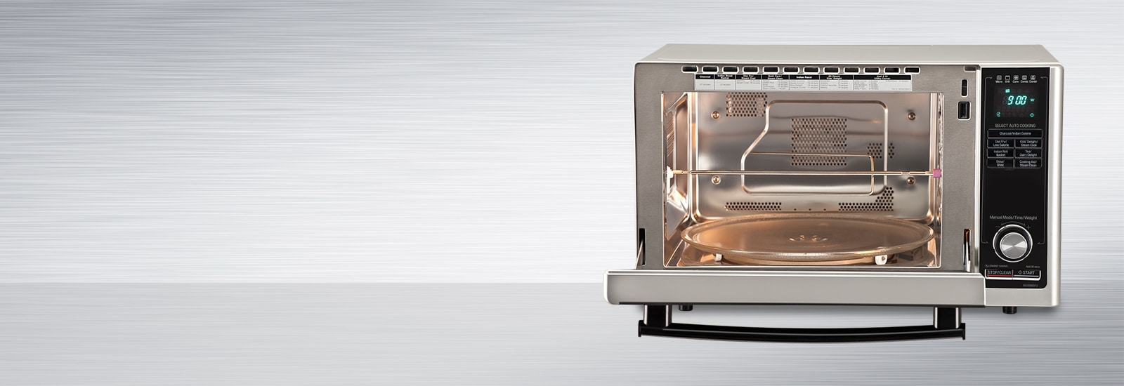 LG Stainless Steel Cavity Microwave Oven