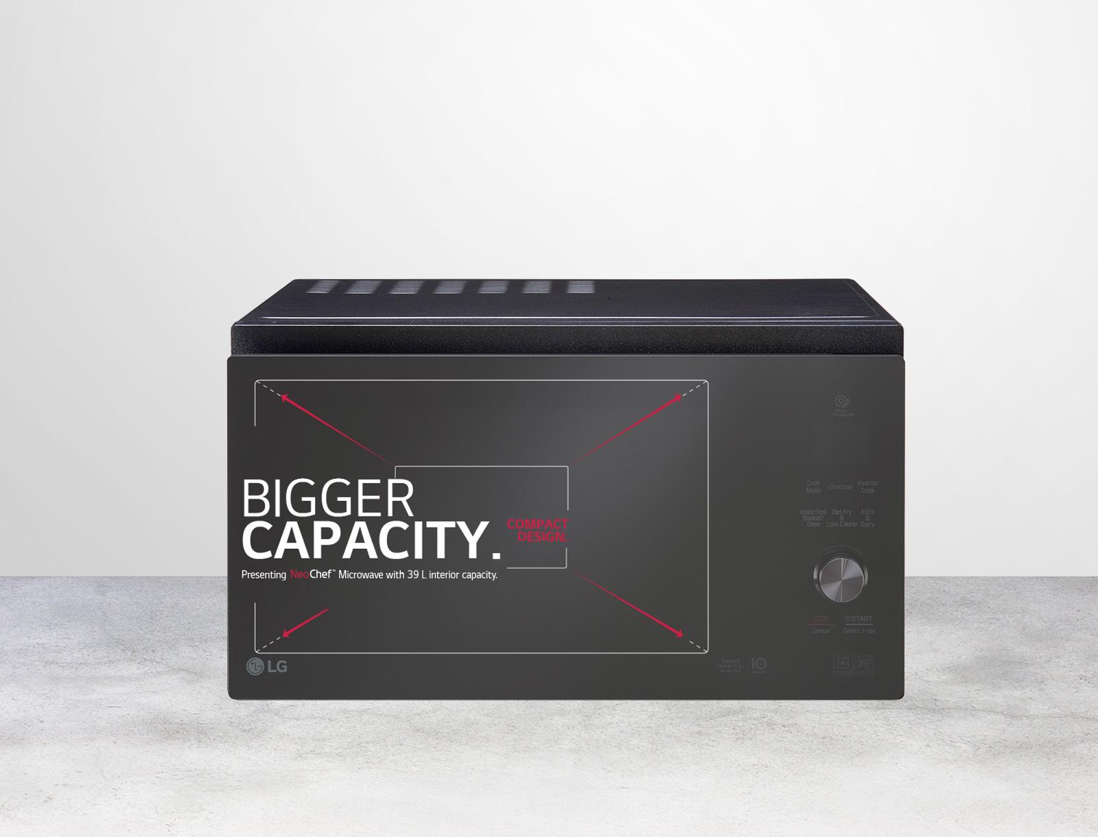 Compact Size, Bigger Capacity