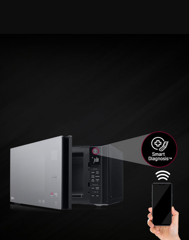 Lg Ms4295dis 42 L Neochef Microwave With Smart Diagnosis