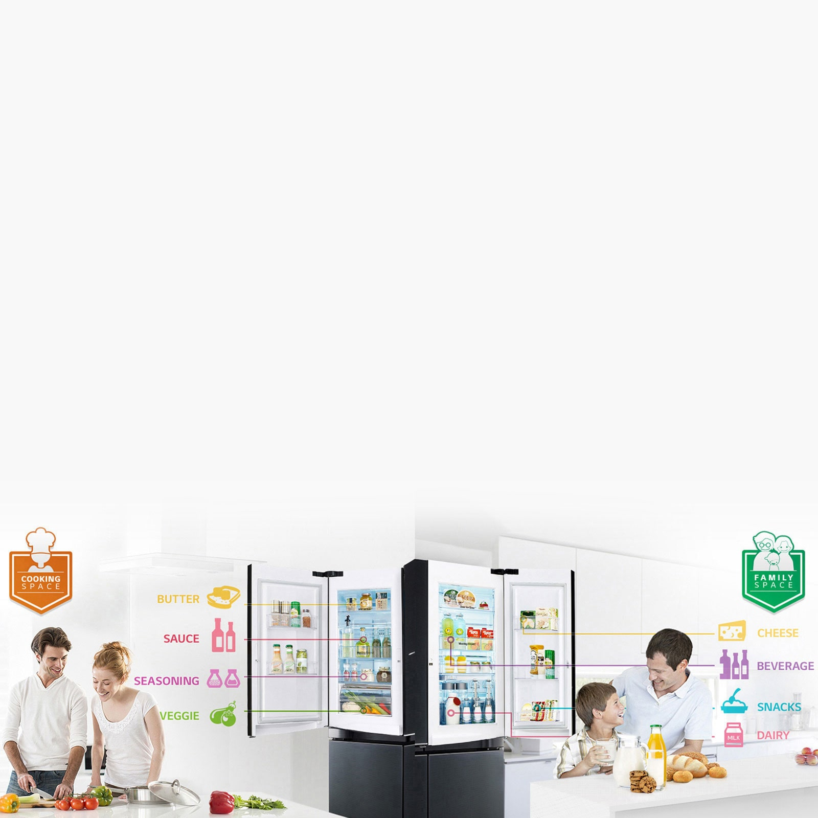Kitchen Appliances - Refrigerator, Microwave & More | LG India