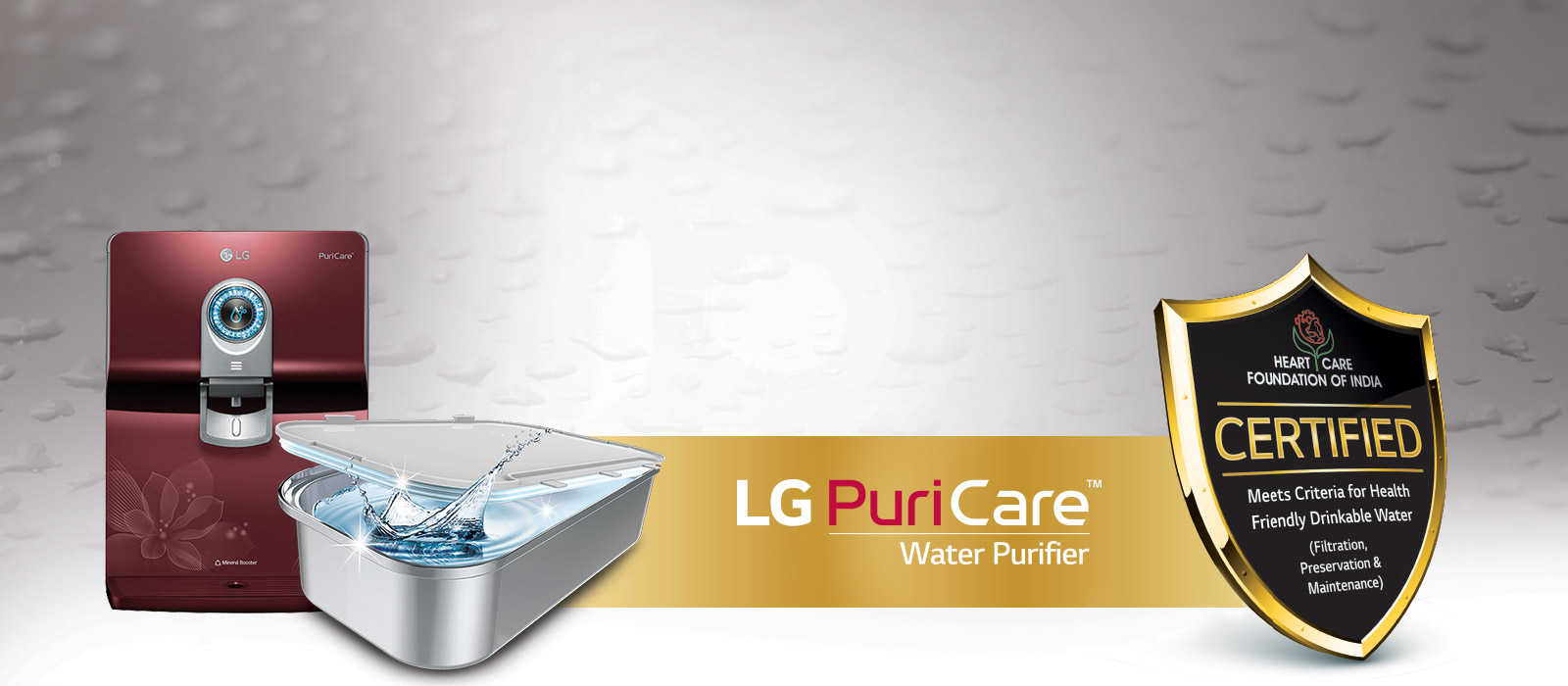 LG Puricare Water Purifier