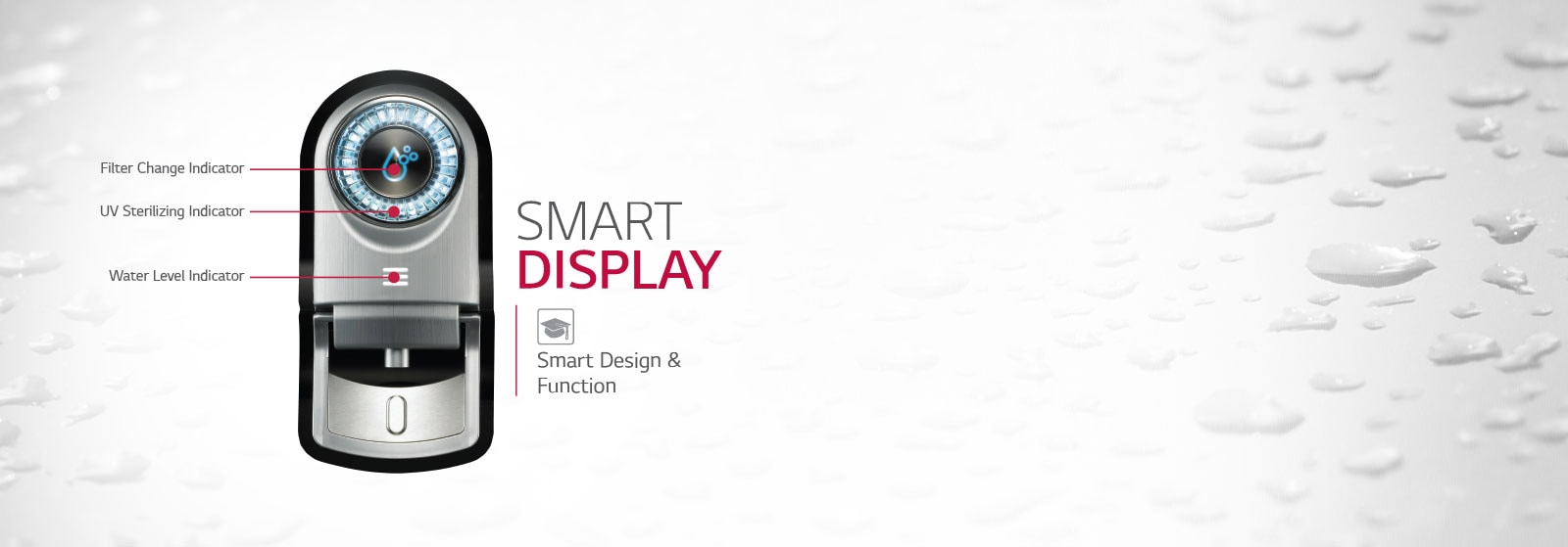 LG Water Purifier Smart Display