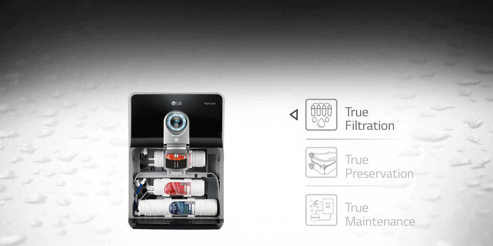 LG Water Purifier True Filteration