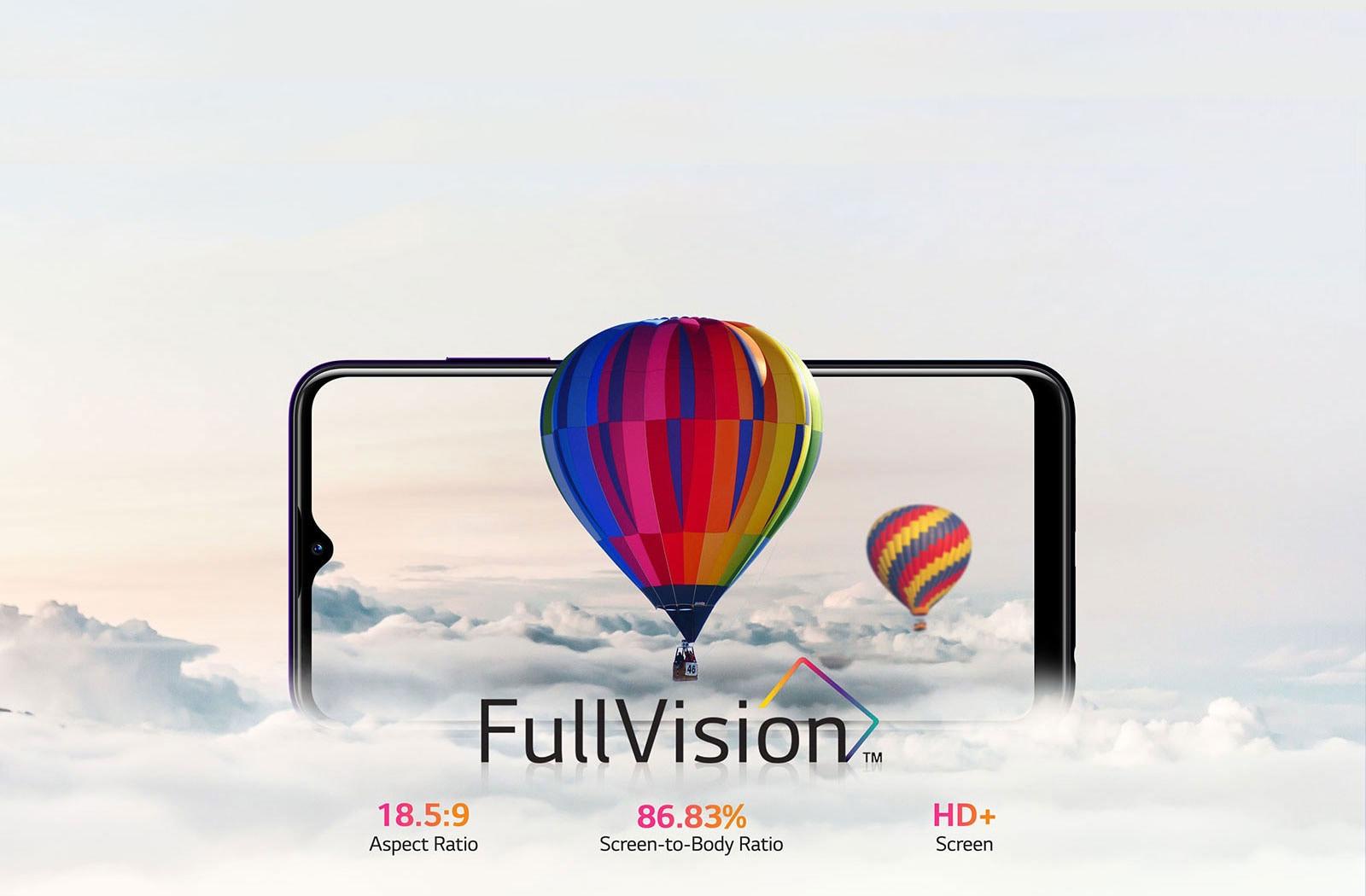 تلفن هوشمند LG W30 Pro با نمایشگر FullVision