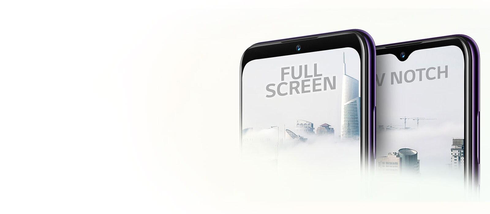 تلفن هوشمند LG W30 Pro با طراحی Waterdrop