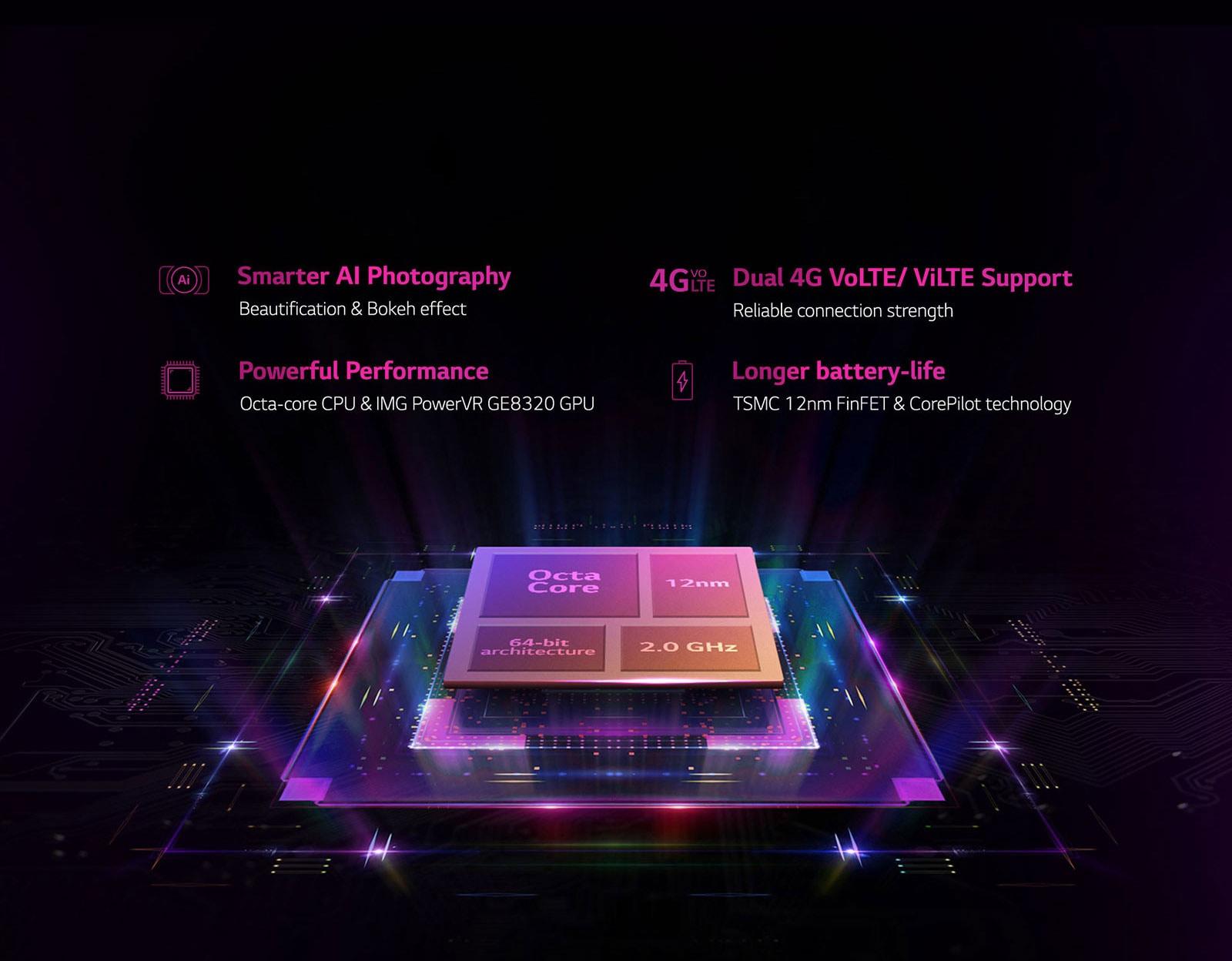 LG W10 (LMX130IM) - Smartphone With Dual AI Camera | LG India