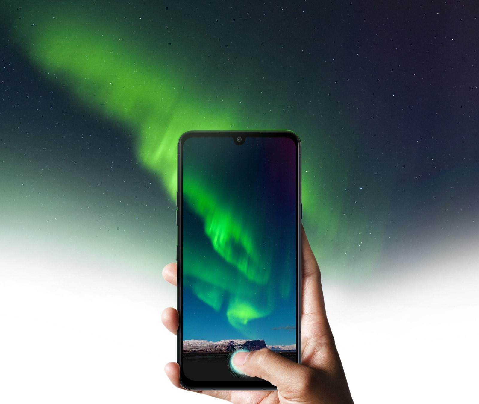 LG G8XThinQ dual screen 16.256cm (6.4) display