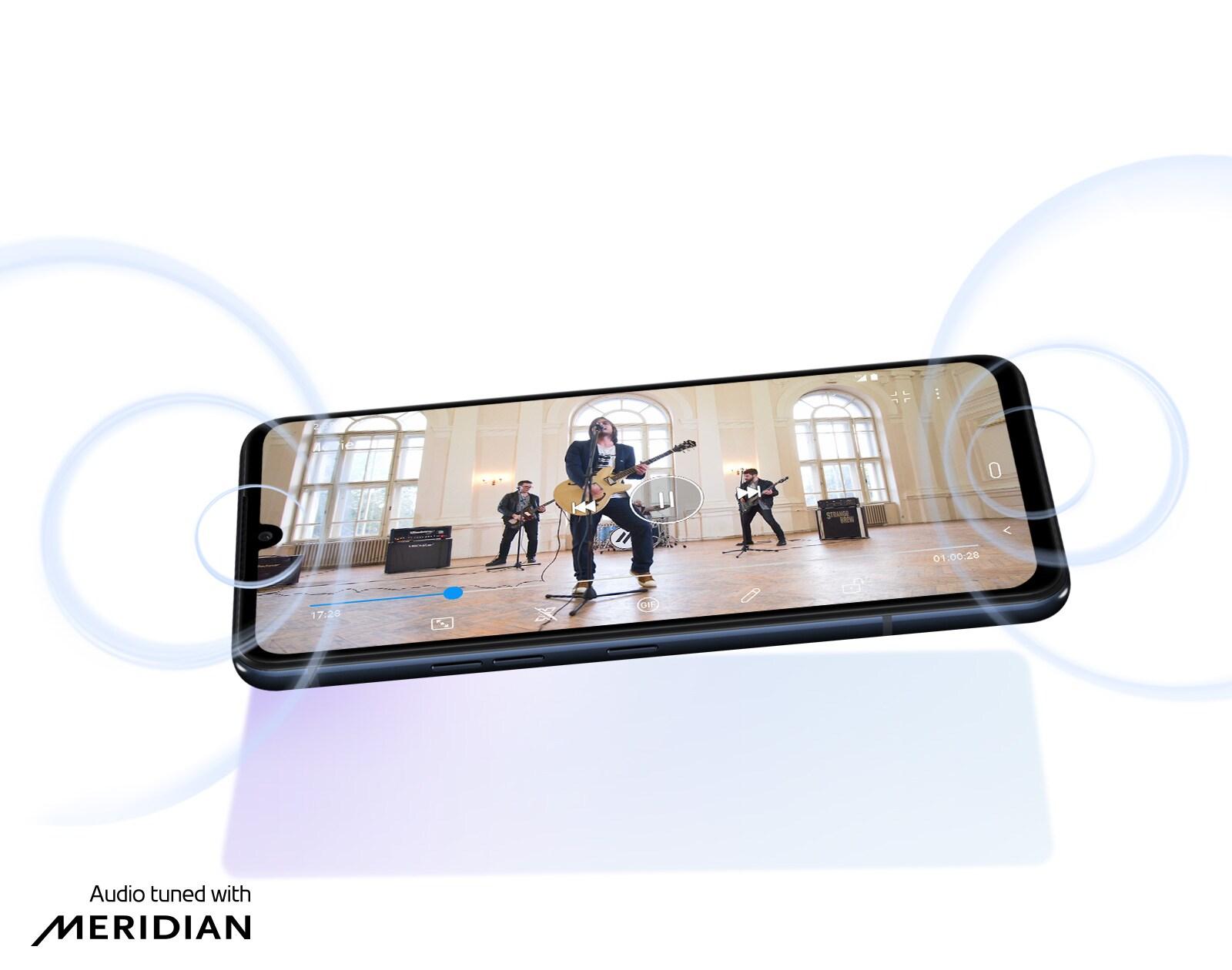 LG G8XThinQ dual screen Stereo Sound