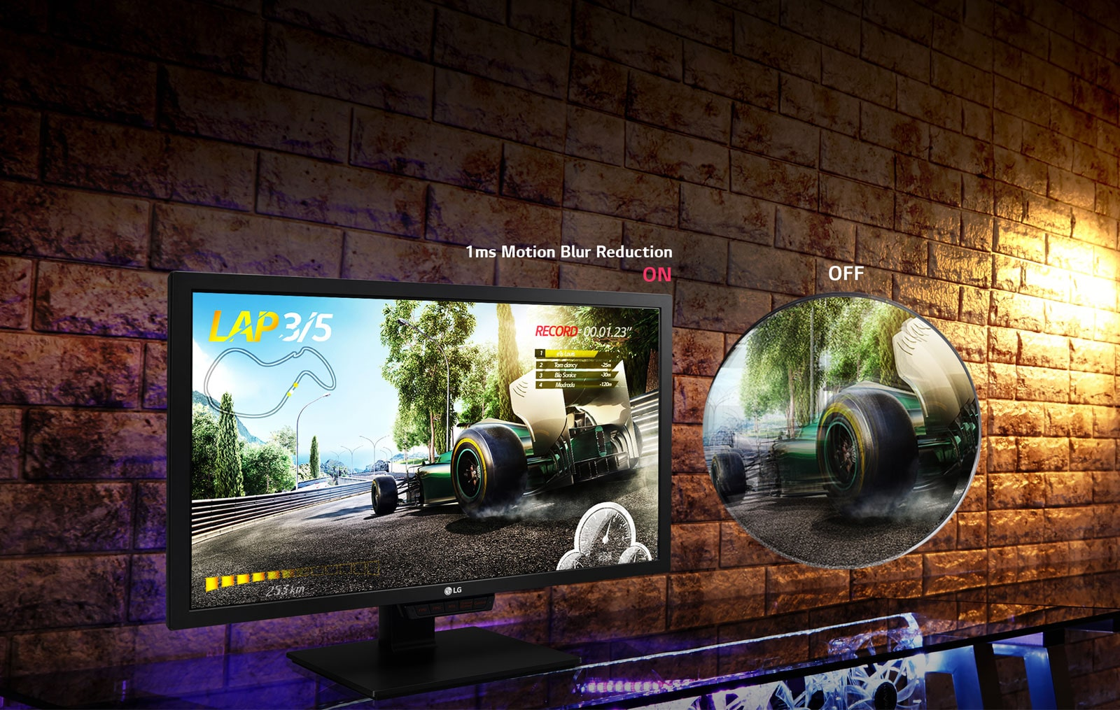 LG 24GM79G - Full HD Gaming Monitor With 1ms Motion Blur