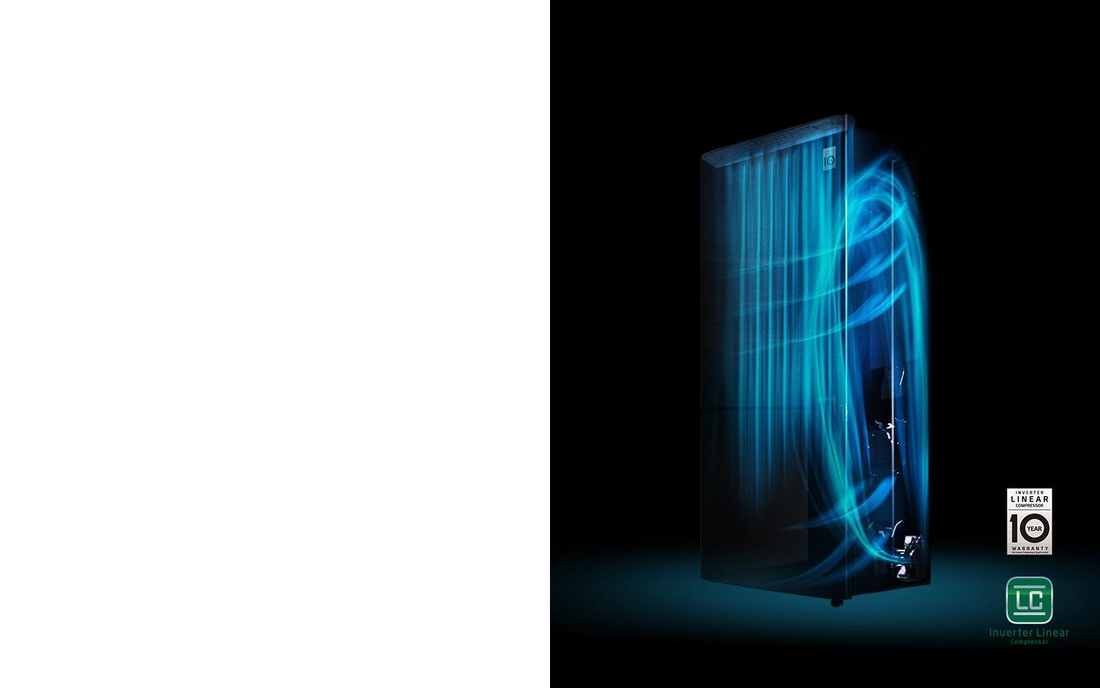 LG GN-H602HLHQ 516 Ltr Inverter Linear Compressor