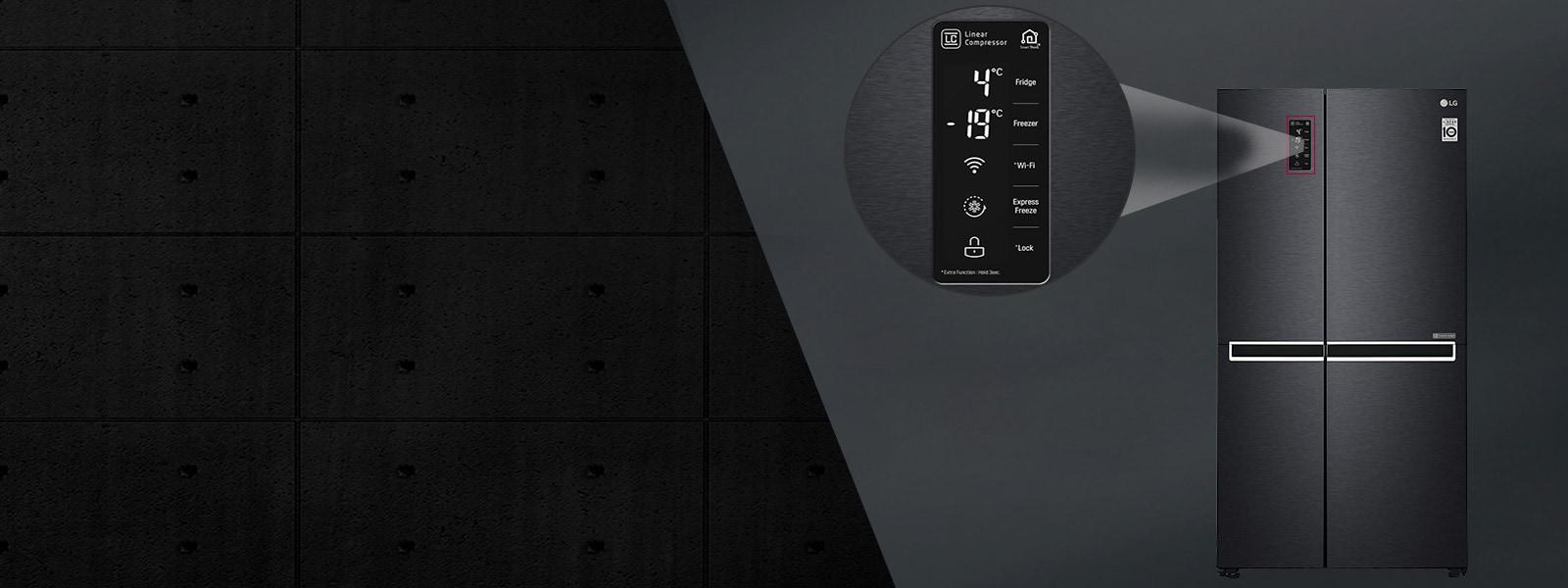 LG GC-B247SQUV 687 Ltr External Display Panel