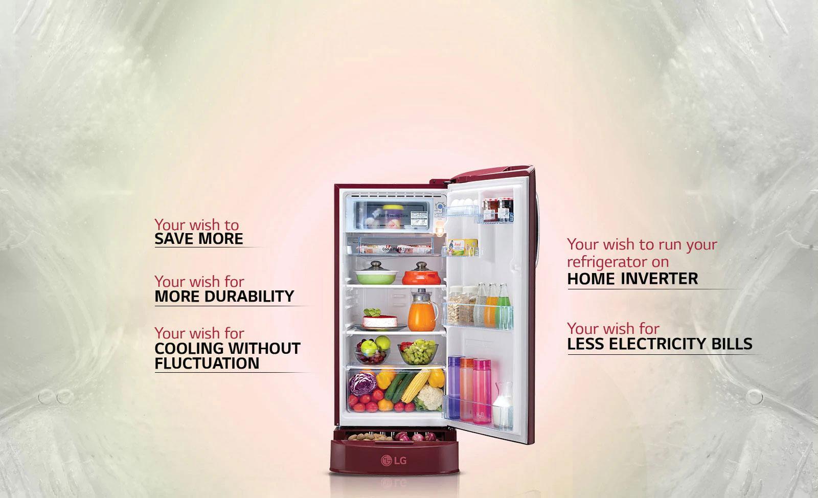 LG Direct Cool Refrigerators