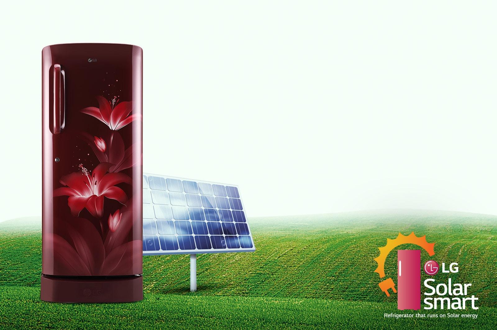LG GL-B221ASCY 215 ltr solar smart
