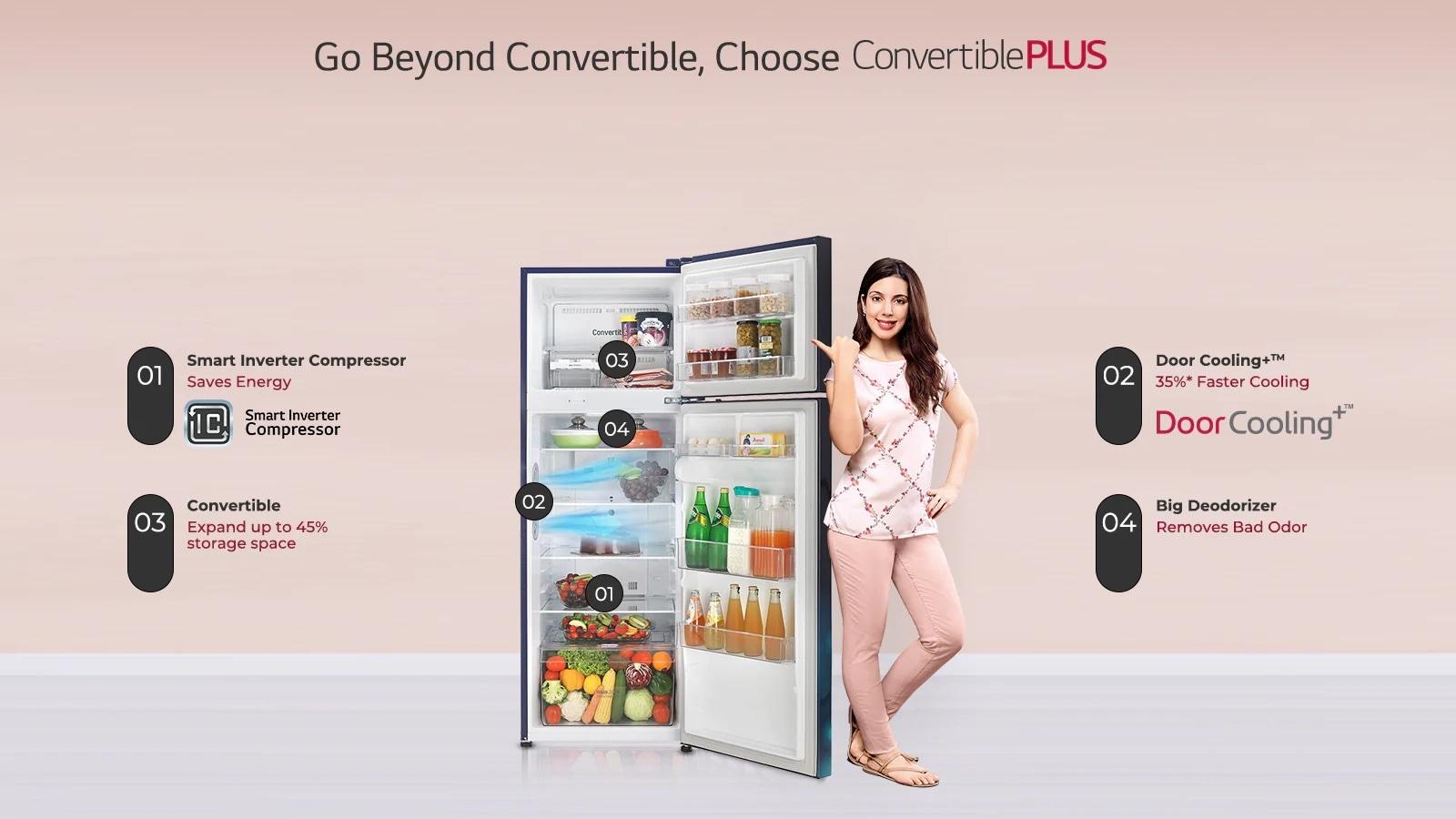 LG GL-T292RBCX Convertible Plus