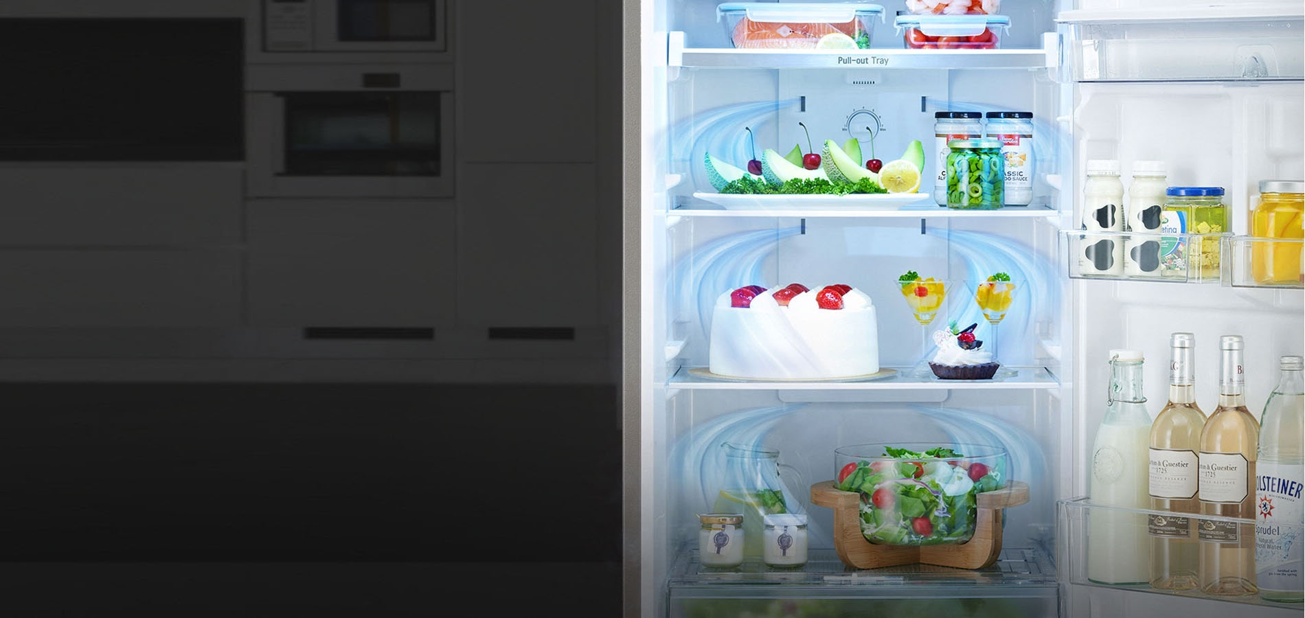 LG Double Door Refrigerator With Multi Air Flow