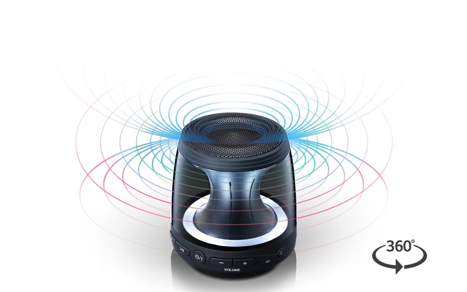 Lg Ph1 Portable Bluetooth Speaker India Waterproof Bts 06 Original 360 Degree Sound Effect