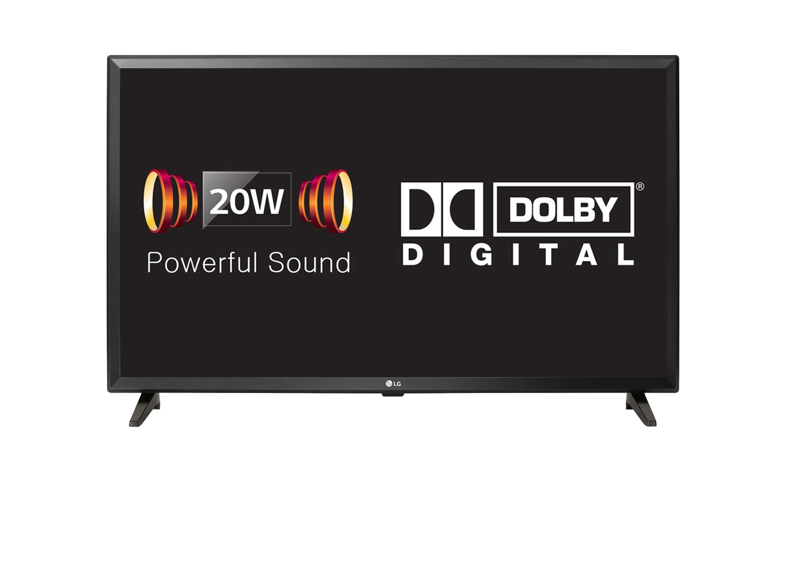 LG 20W Powerful Sound LED TV