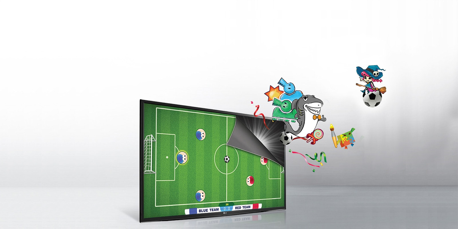 LG Built In  Upgradable Games LED TV