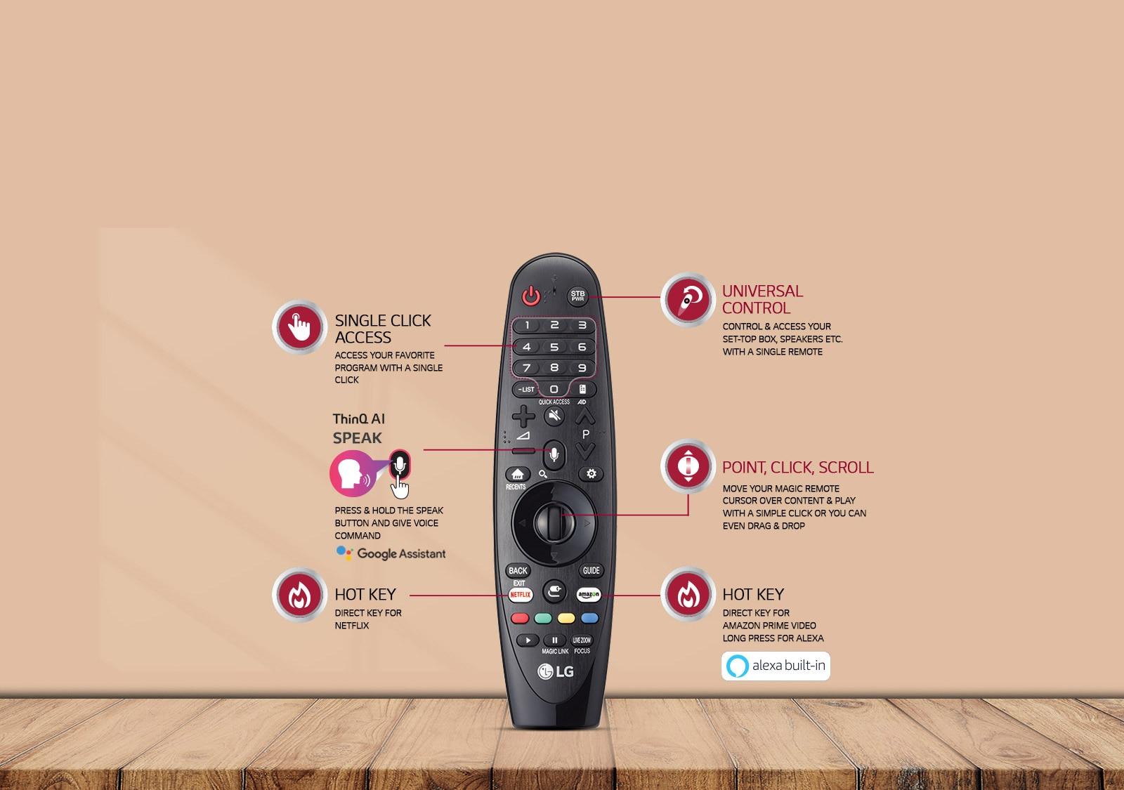 LG Magic Remote NanoCell TV