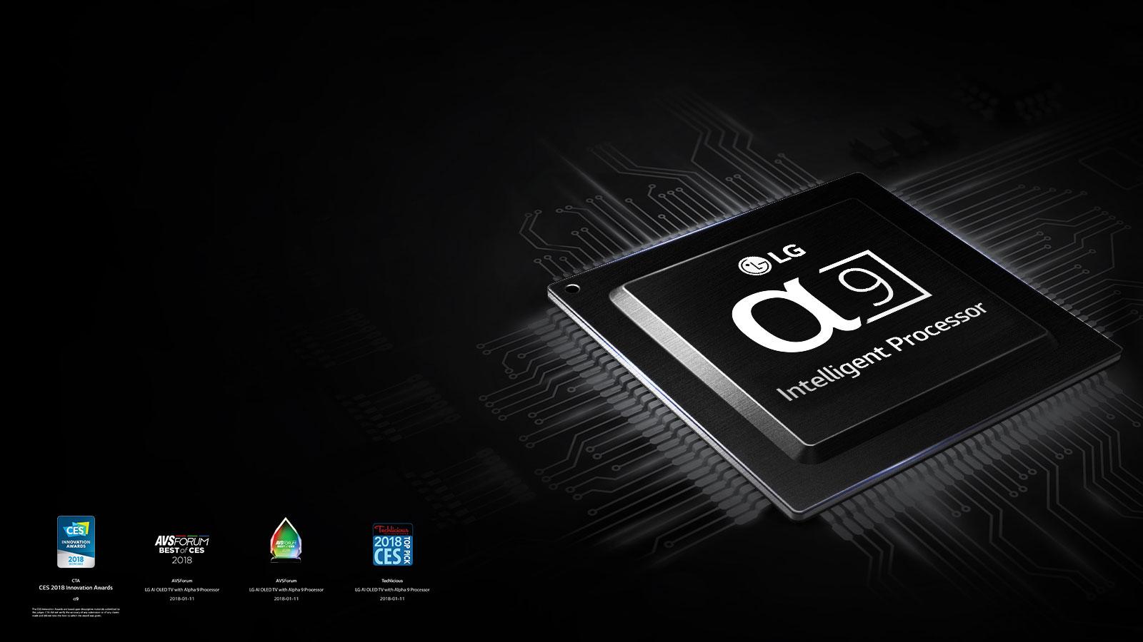 LG OLED TV With α9 Intelligent Processor