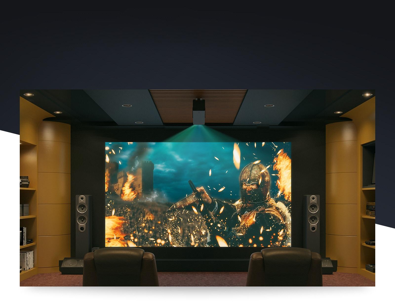 LG 4K UHD Laser Cinebeam