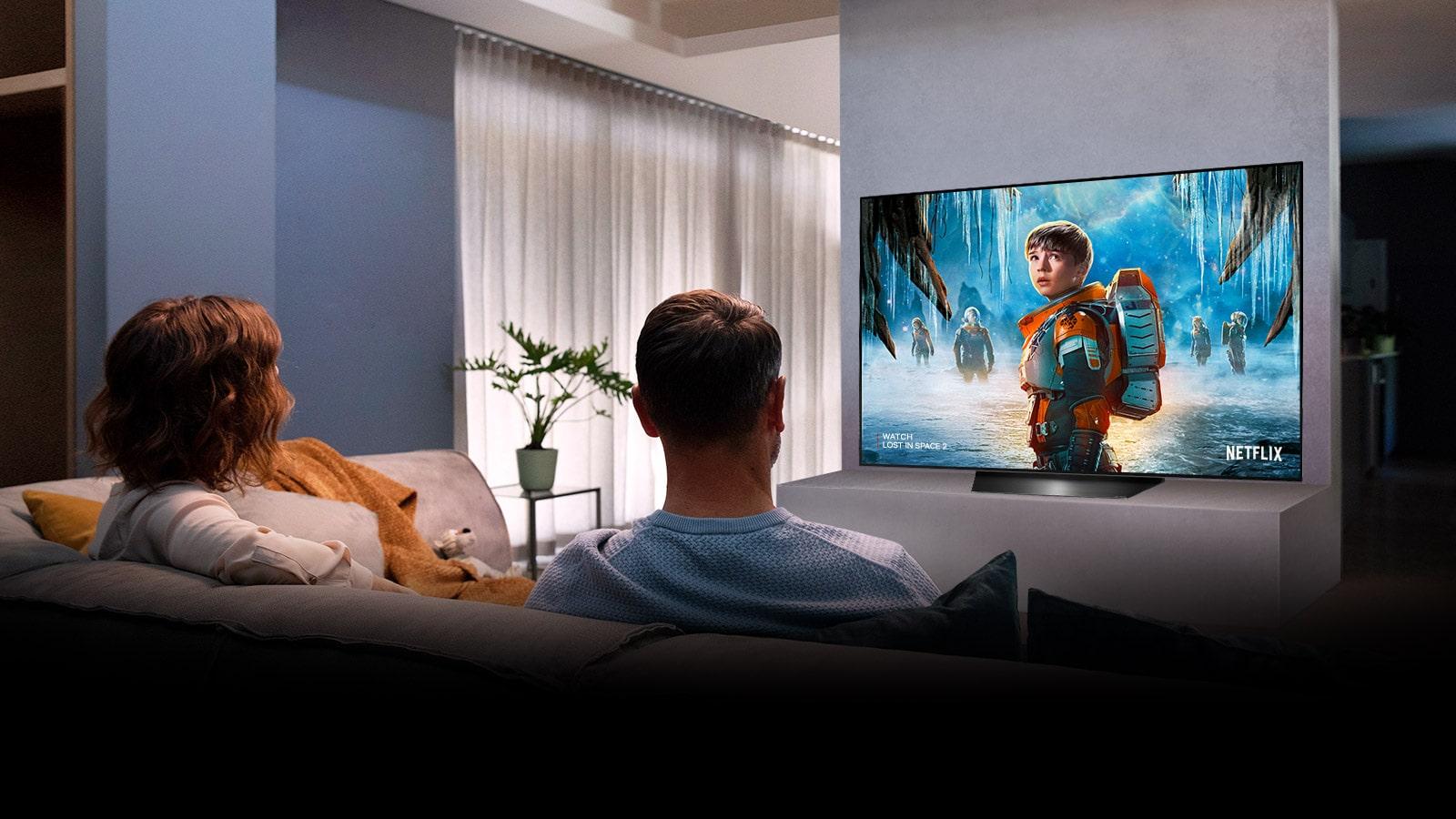 LG OLED55BXPTA True Cinema Experience