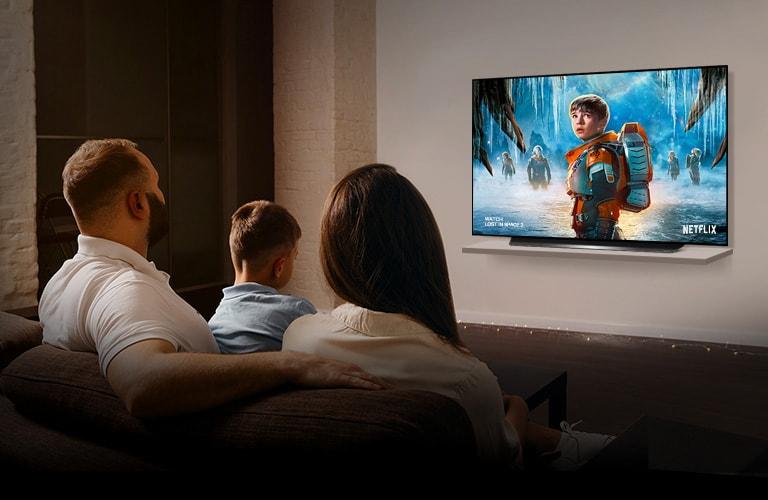 LG OLED77CXPTA True Cinema Experience