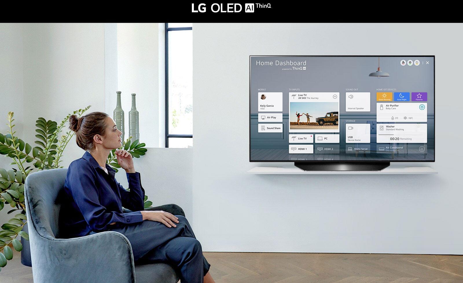LG OLED48CXPTA AI ThinQ