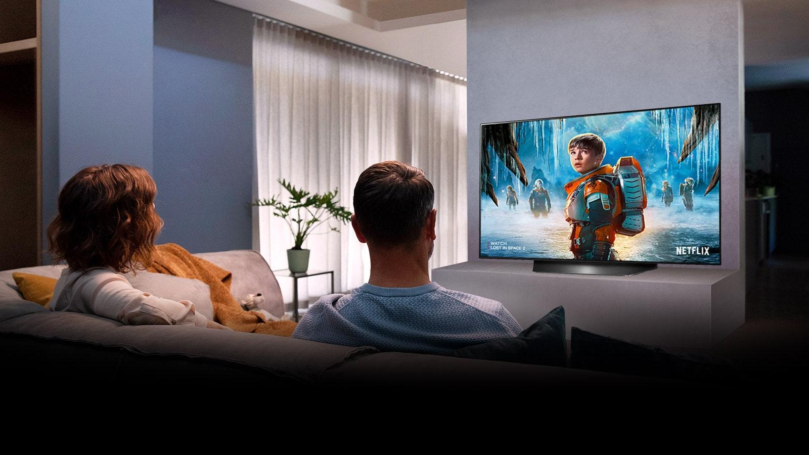 LG OLED48CXPTA True Cinema Experience