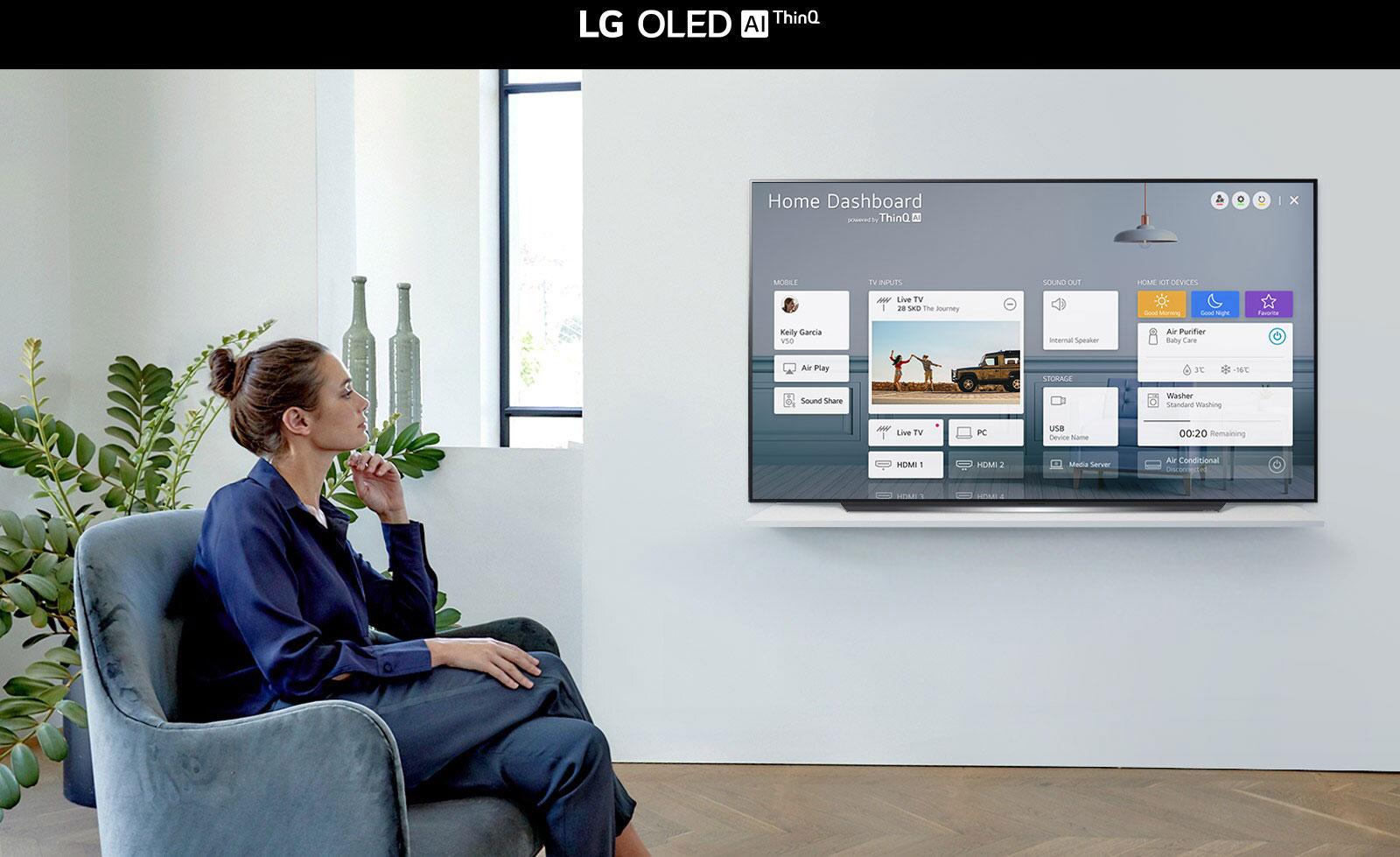 LG OLED65CXPTA  AI ThinQ