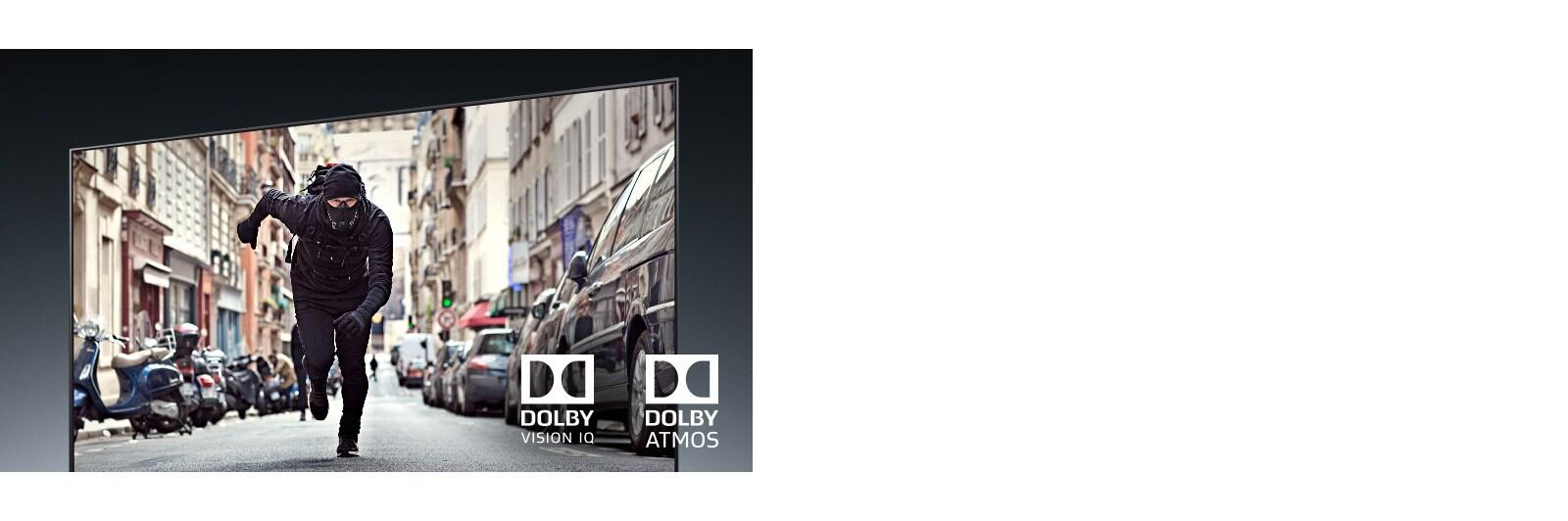 LG OLED65BXPTA Dolby Vision IQ and Atmos