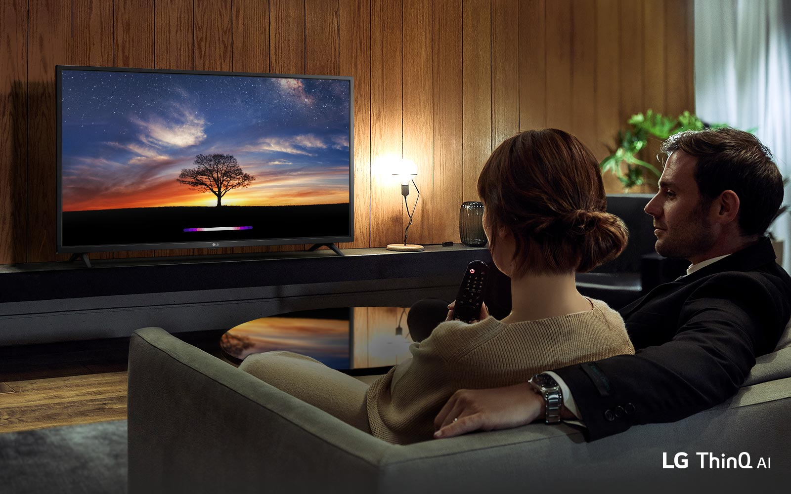 Live in Wonder<br>with LG AI TV1