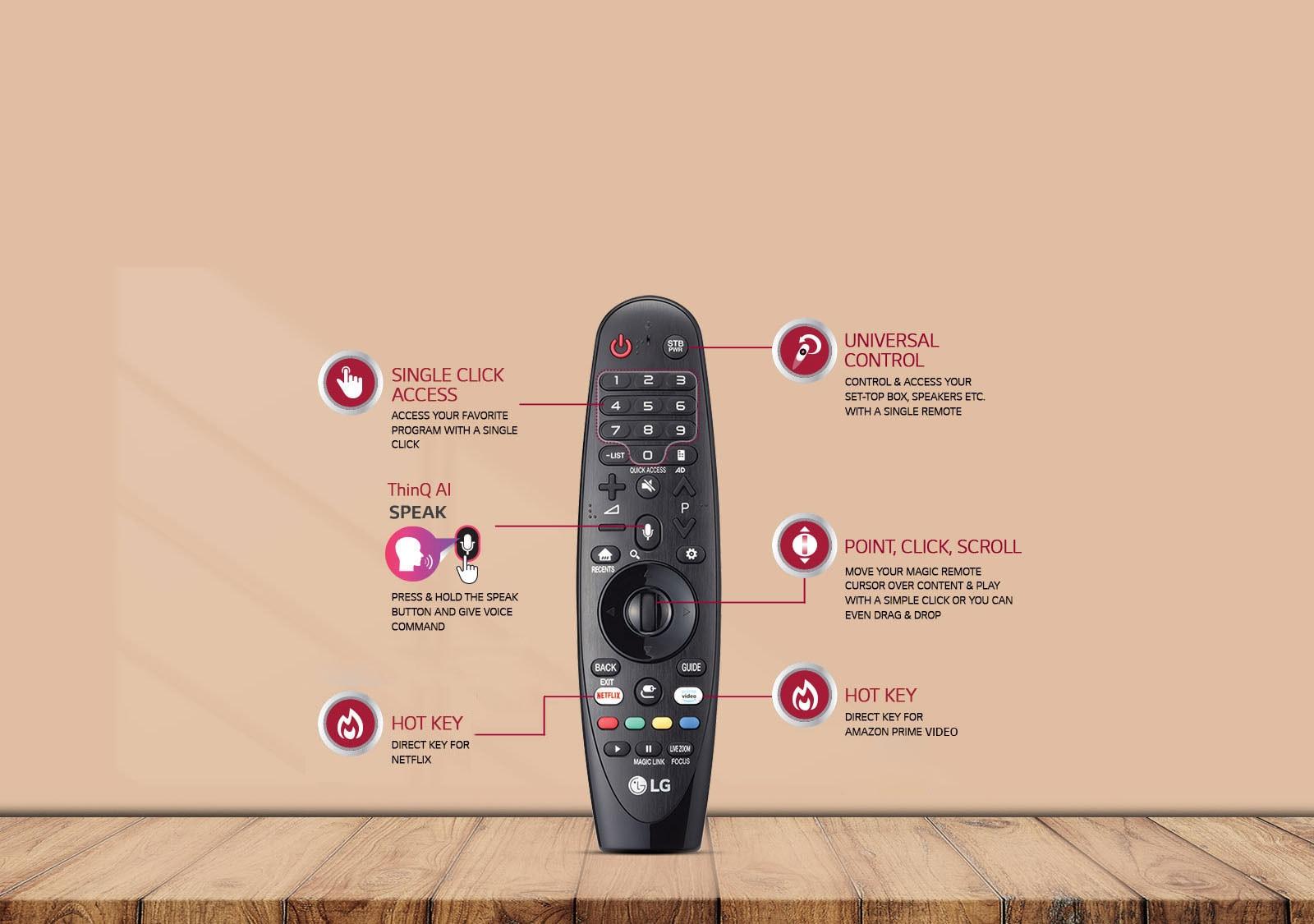 LG Magic Remote Smart TV