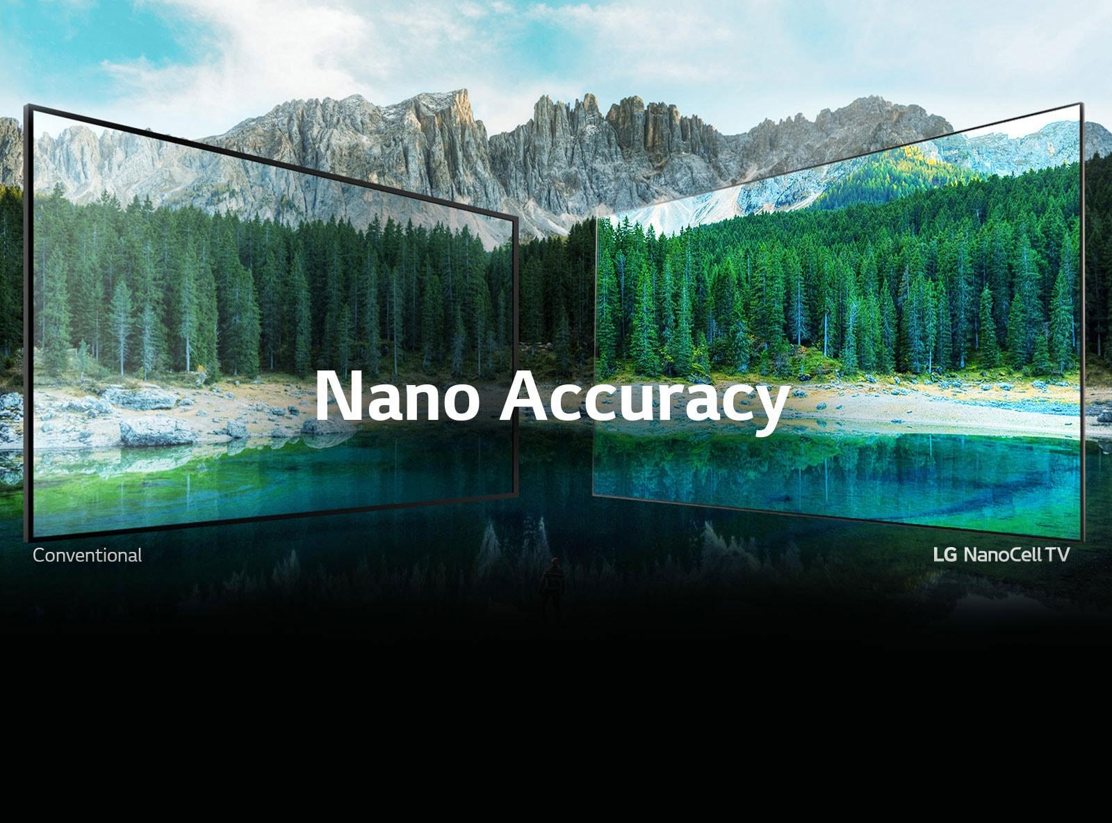 LG Nano Accuracy TV