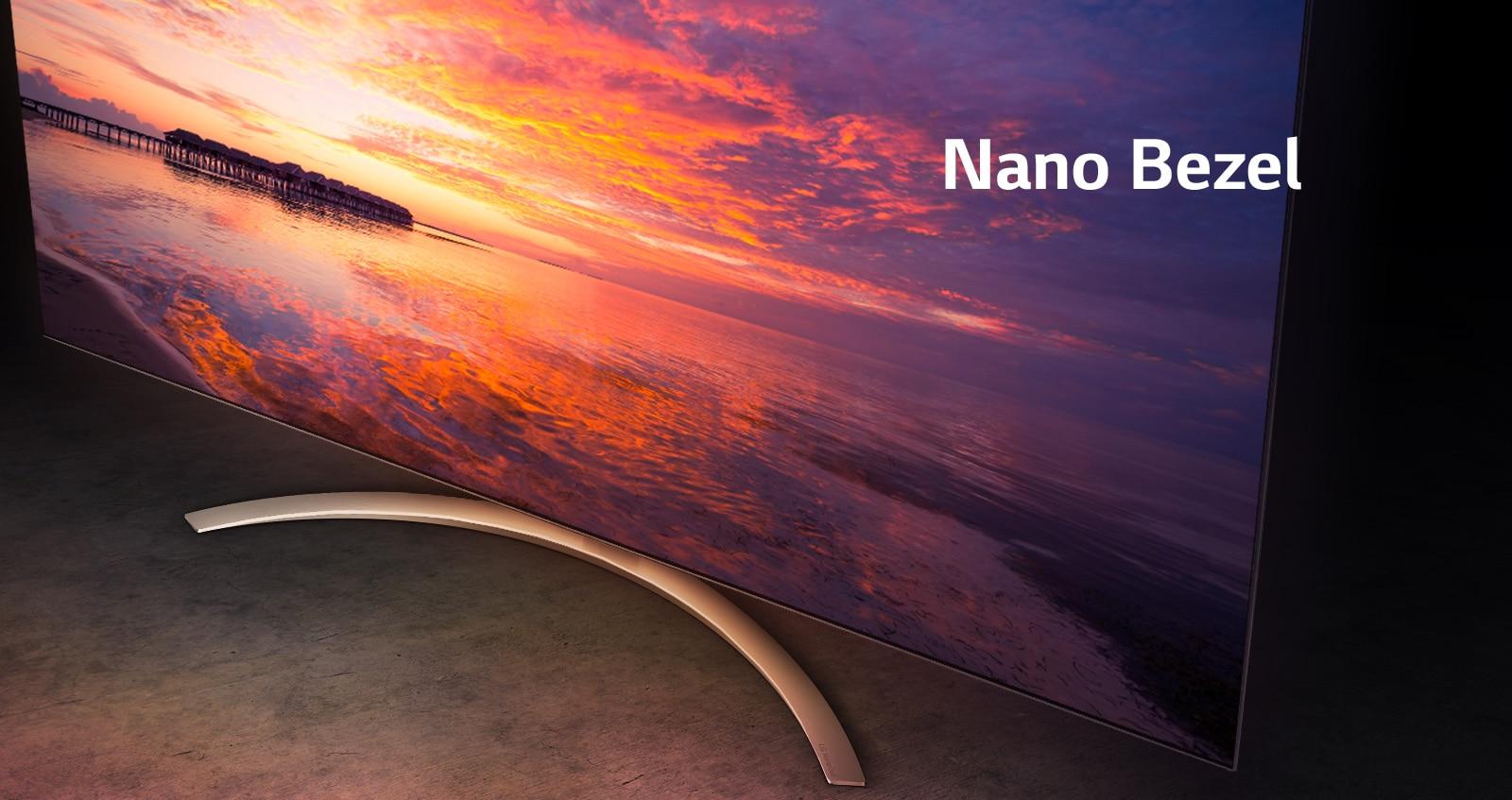 LG Nano Bezel TV
