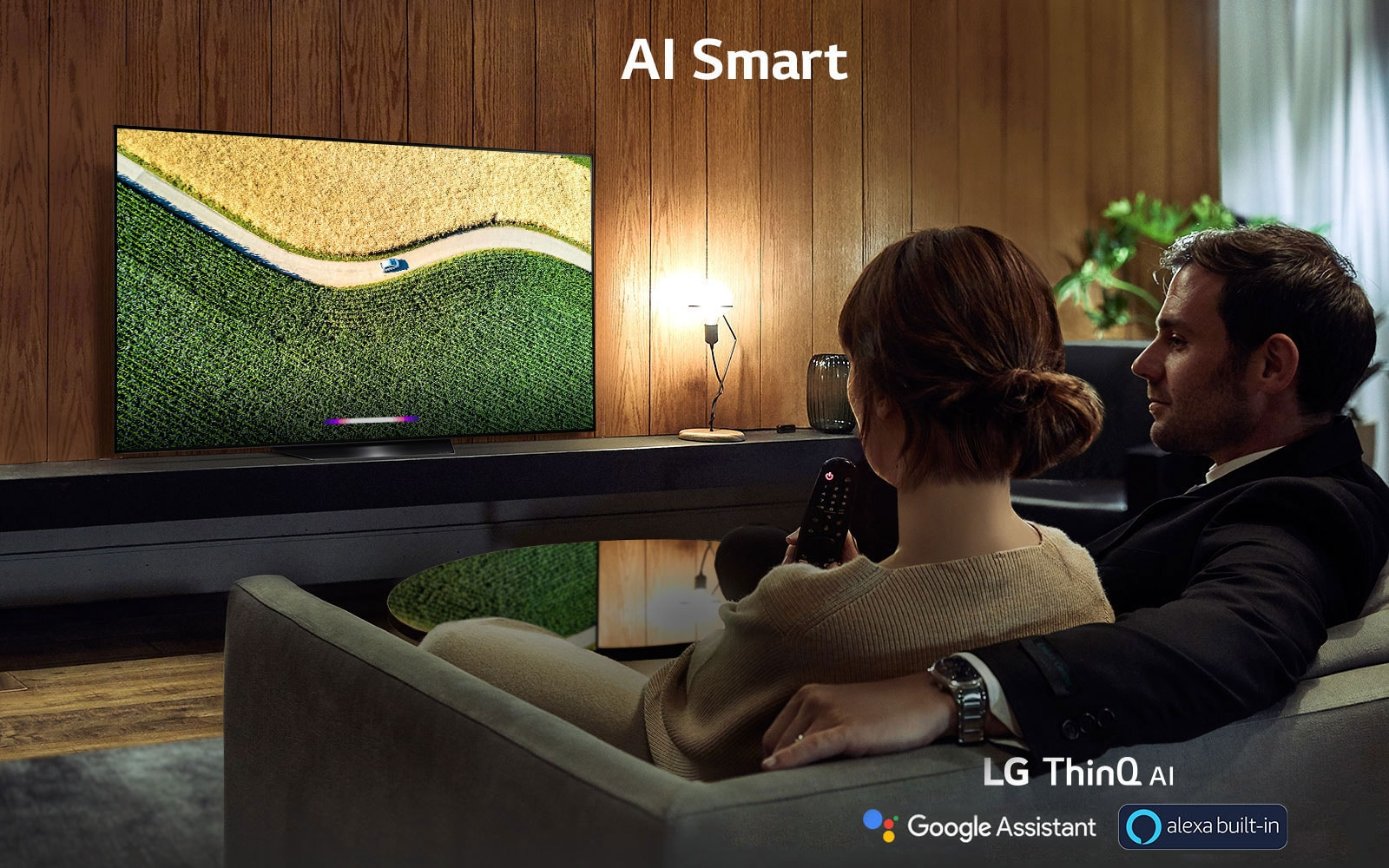 LG AI Smart OLED TV