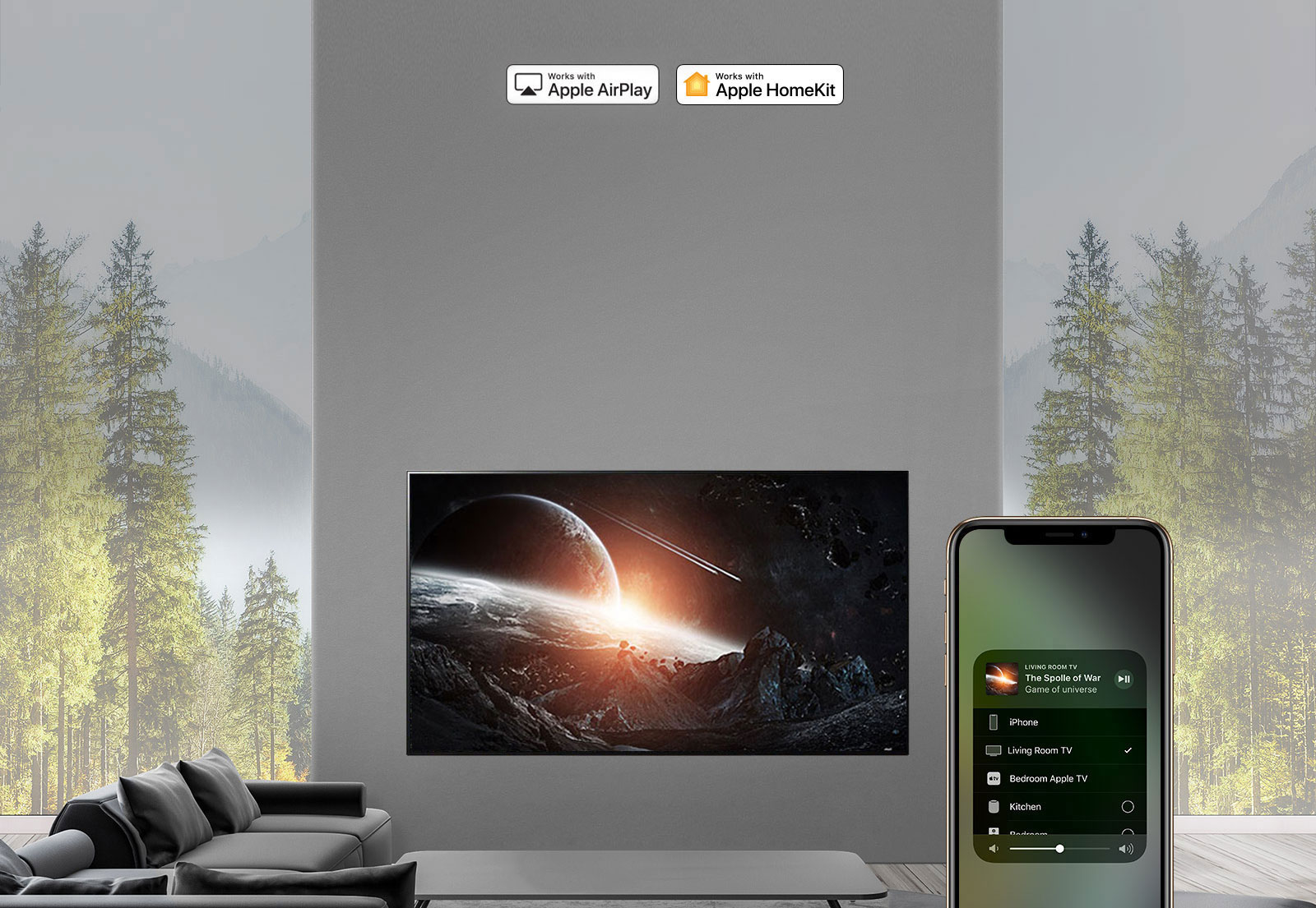 LG Apple AirPlay OLED TV