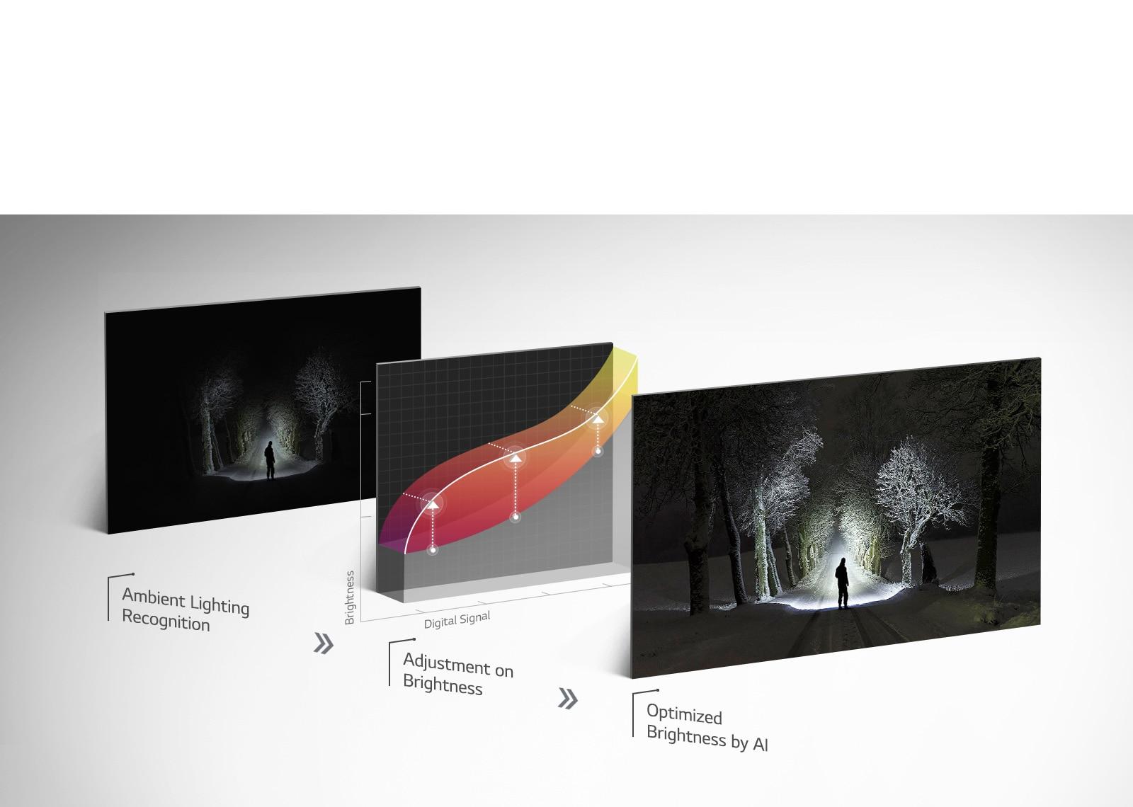 LG AI Brightness OLED TV