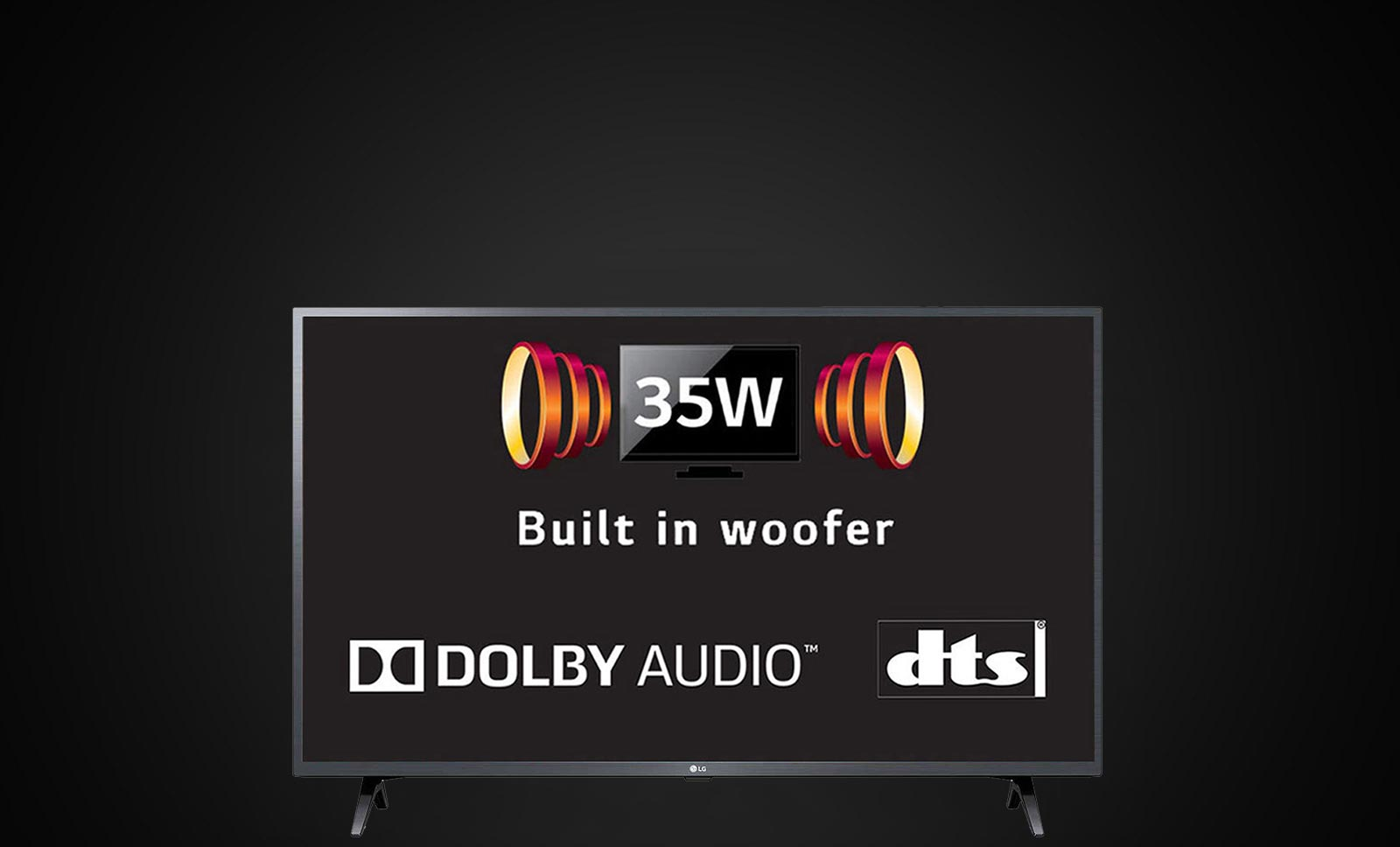 LG 35W Built In Woofer Smart TV
